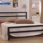 تختخواب دو نفره ساده مدرن کد 113