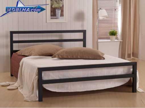 تخت خواب فلزی دو نفره کد 113