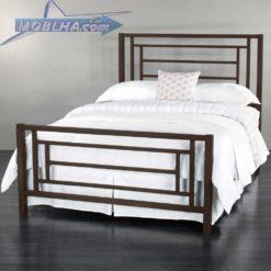 تخت خواب دو نفره مدرن فلزی کد 112