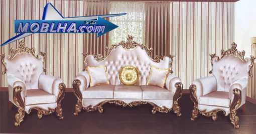خرید مبل استیل و سلطنتی مدل دلبر