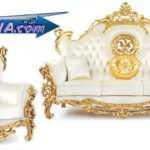 مبل سلطنتی مدل مروارید