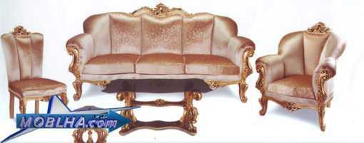 خرید مبل سلطنتی مدل نیلوفر
