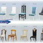 لیست میز و صندلی ها