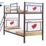 تختخواب دو طبقه فلزی مدل 202 – دو نفره دو طبقه – مخصوص اتاق خواب کودک