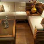 مبل ال مینا – خرید مبل ال مینا شکیل با کلاف تمام چوب طبیعی با طراحی چشم نواز