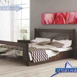 تخت خواب دو نفره مدل 203