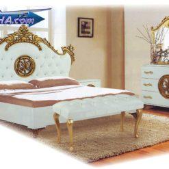 فروش سرویس خواب سفید و شیک مدل 701