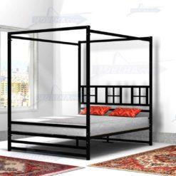 خرید تخت خواب ستون دار مدل 137
