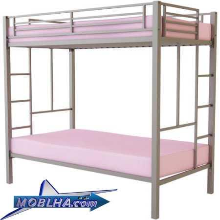 تخت خواب دو طبقه فلزی کد 131