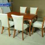 فروش سرویس میز ناهار خوری 6 نفره چوبی شکیل مدل 311ام