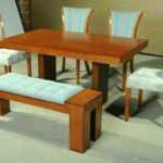 فروش میز نهار خوری نیمکت دار مدل 317