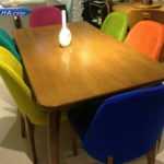 فروش میز نهار خوری چوبی و فانتزی مدل 318 – میزناهار خوری شیک مدل 318 ام