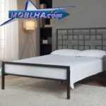 تختخواب دو نفره طرح دار | تخت خواب طرح دار مدل 133 | تخت دو نفره مدل 133