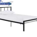 تخت خواب فلزی ساده و شیک مدل 138 | تختخواب یک نفره ساده مدل 138