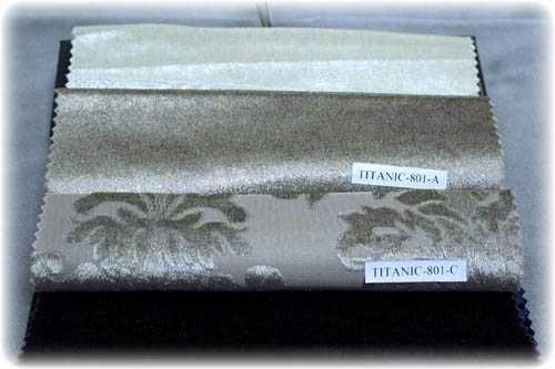 نمونه تصویر پارچه تایتانیک برای مبل سلطنتی