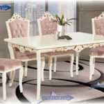 میز و صندلی ناهار خوری سلطنتی 6 نفره مدل 322 | قیمت و خرید آنلاین میز و صندلی سلطنتی