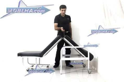 باز و بسته کردن راحت صندلی تخت شو بیمارستانی مدل رولون
