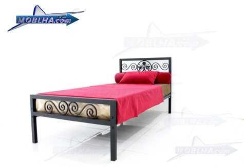 خرید تخت خواب فرفورژه مدل 144