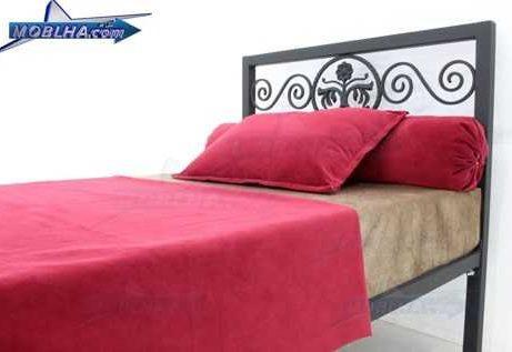 تخت خواب یک نفره فرفورژه کد 144