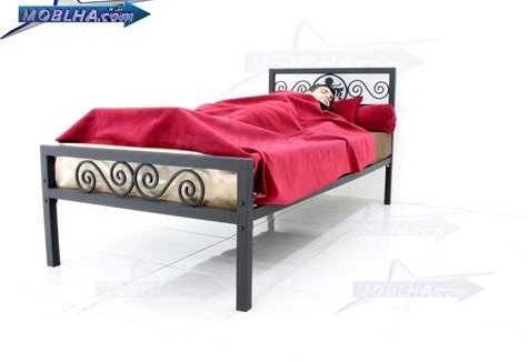 خواب راحت و آسوده بر روی تخت خواب شیک فرفورژه کد 144