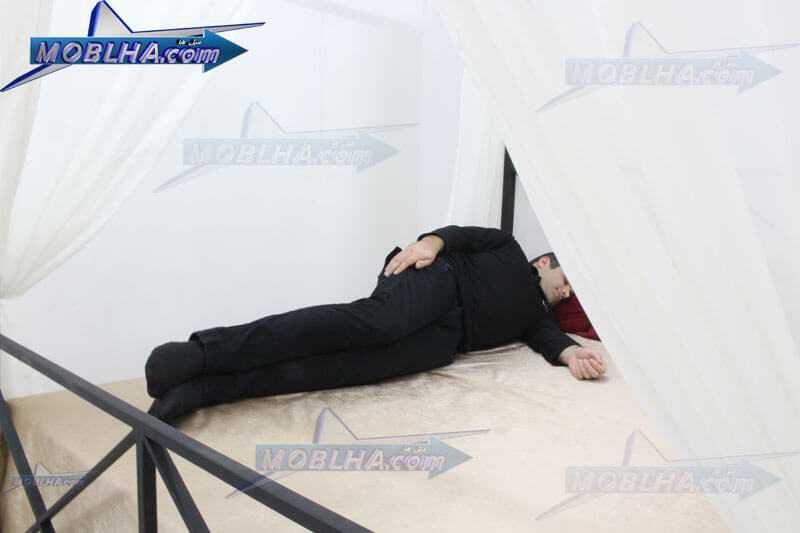 خواب و استراحت بر روی تخت خواب کد 109
