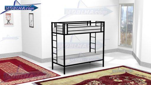 خرید تخت خواب فلزی دو طبقه مدل 102