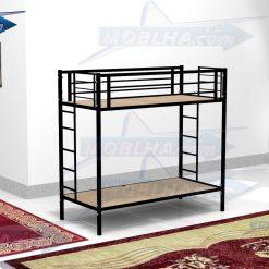فروش تخت خواب فلزی دو طبقه مدل 102