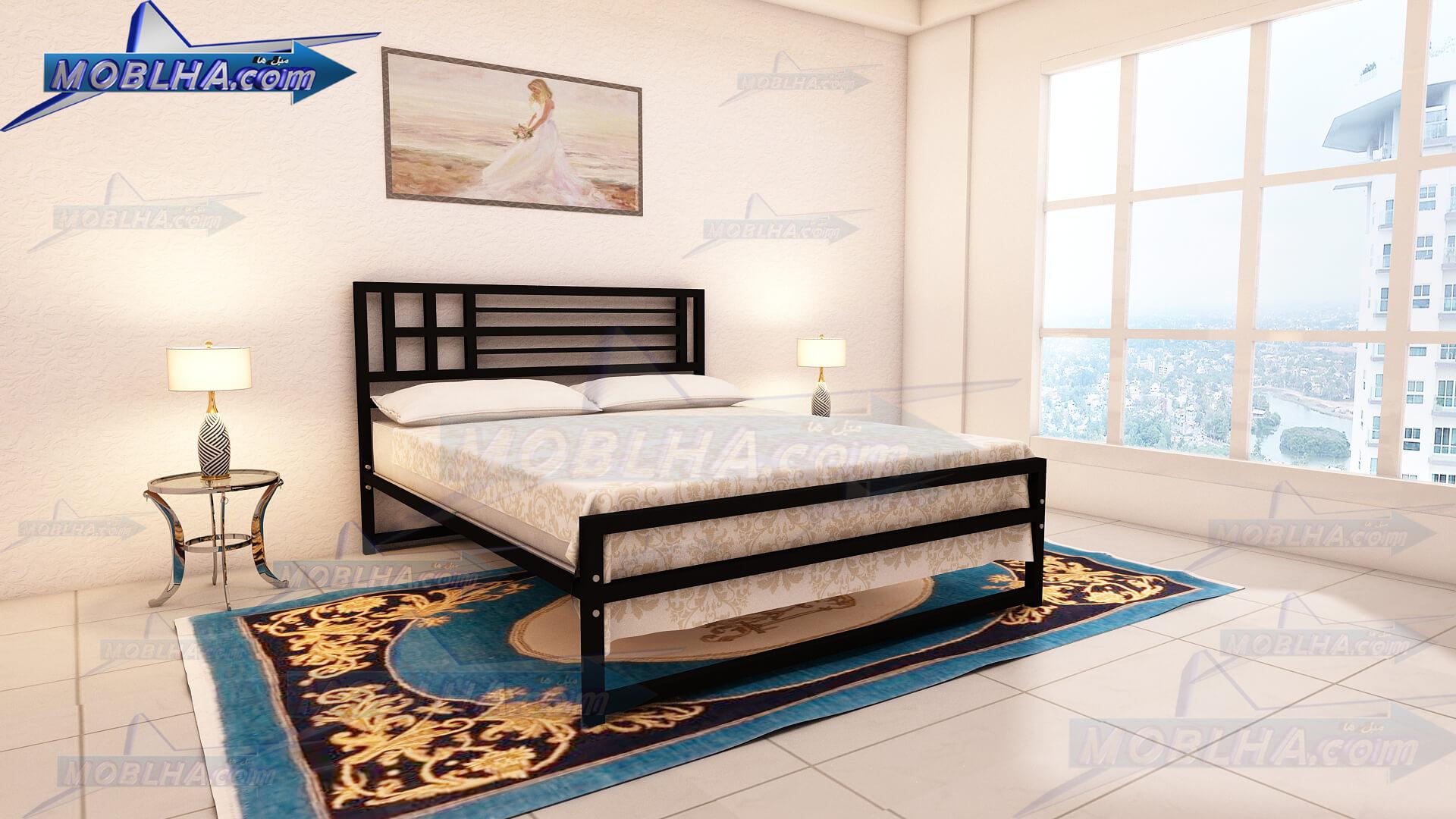 خرید تخت خواب دو نفره شیک
