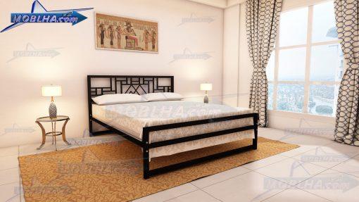 تخت خواب دو نفره شیک مدل 136