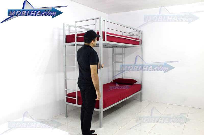 تخت خواب دو طبقه کد 102
