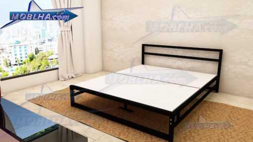 خرید تخت خواب بدون تاج کد 139