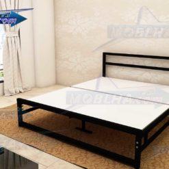لوازم ارسالی به همراه تخت خواب بدون تاج کد 139