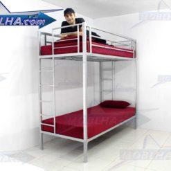 فروش تخت خواب دو طبقه مدل 102 تایتان سیلور