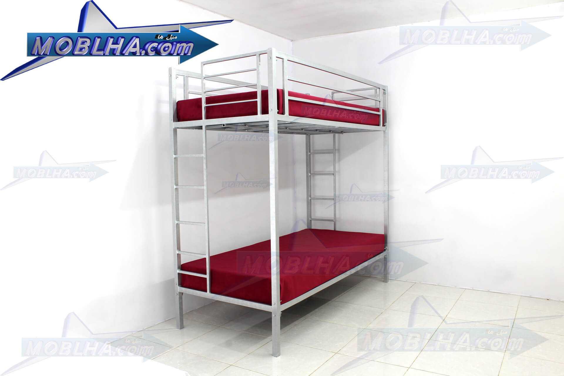 خرید تخت خواب دو طبقه فلزی