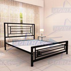 تخت خواب کد 112 با زیر سازی مقاوم چوب و فلز