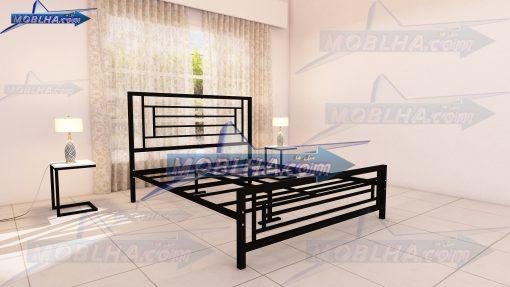 تصویر از قطعات تخت خواب فلزی مدرن کد 112