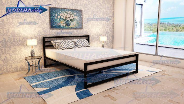 تخت خواب دو نفره فلزی مدرن