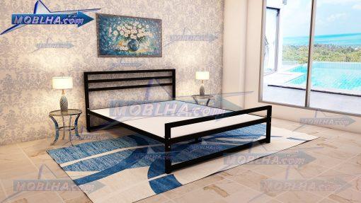 تخت خواب فلزی کد 114