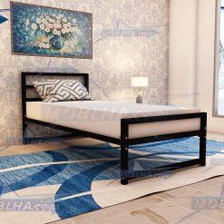 تخت خواب یک نفره فلزی ارزان قیمت