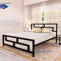تخت خواب فلزی دو نفره جدید مدل 118