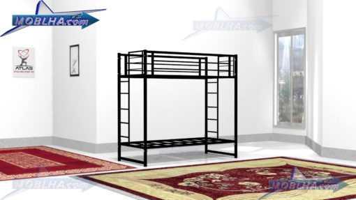 فروش تخت خواب دو طبقه فلزی ارزان مدل 103