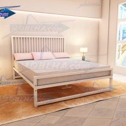 خرید تخت خواب سفید رنگ کد 108