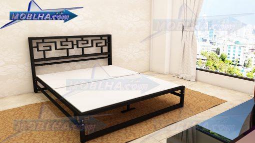 قطعات تحویلی به مشتری تختخواب کد 115