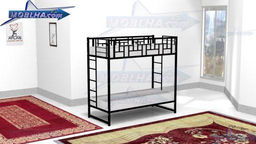 تخت خواب دو طبقه شیک و ایمن مدل 128