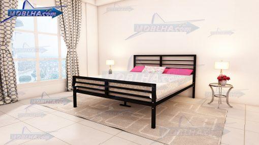 تخت خواب فلزی دو نفره کد 132