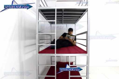 تخت خواب سه طبقه کد 130 سیلور