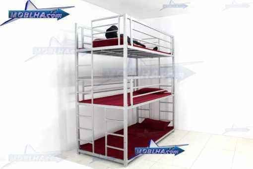 خرید تخت خواب سه طبقه با کیفیت