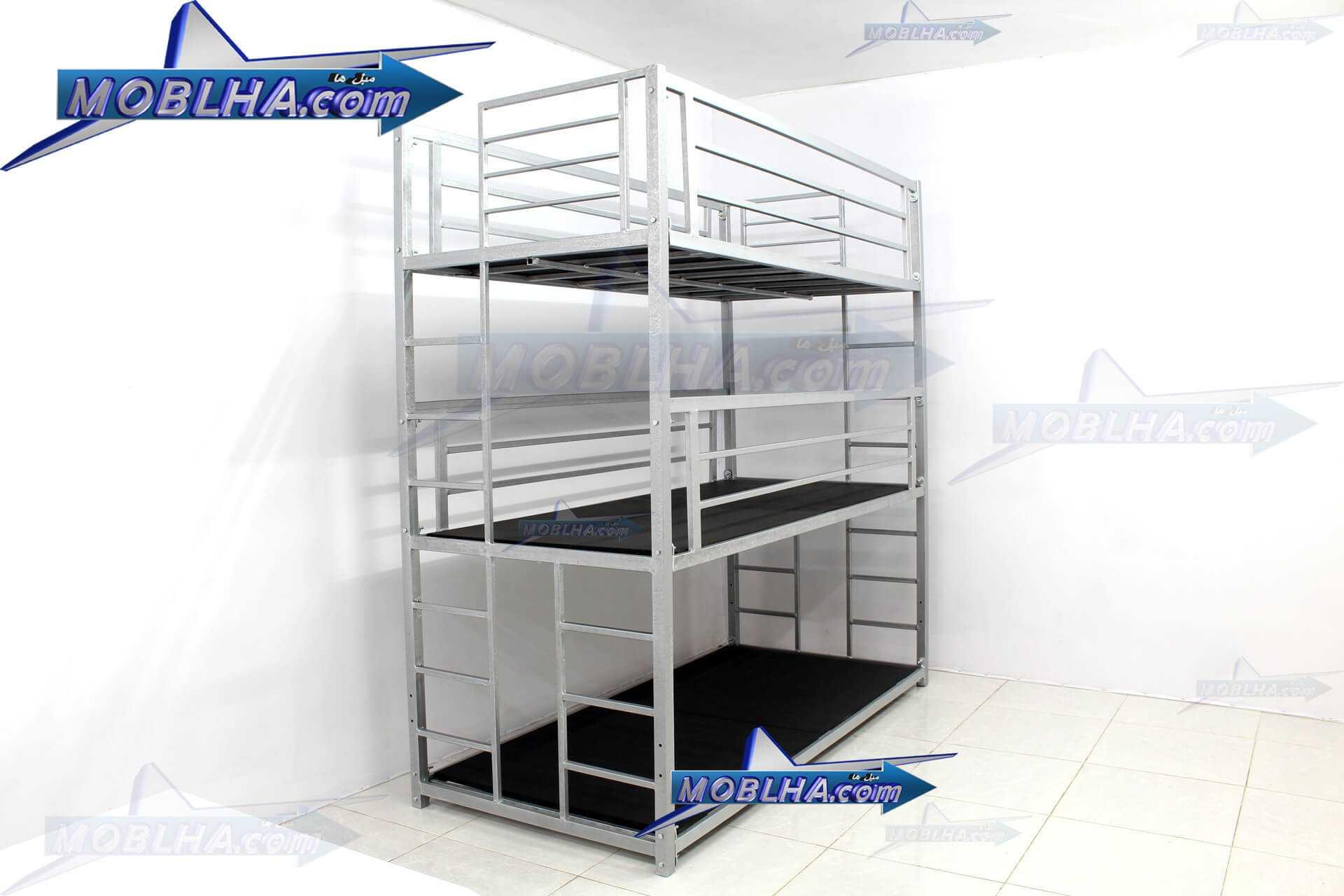 تخت خواب سه طبقه تایتان کد 130