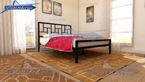 فروش تخت خواب دو نفره فلزی مدل 152