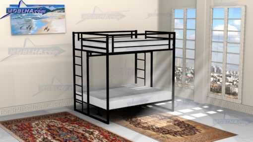 خرید تخت خواب چهار نفره دو طبقه کد 119